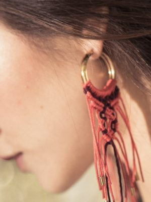 Mosai Handwoven Earrings